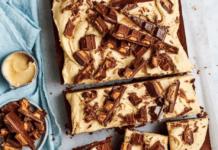 choc peanut butter cake recipe