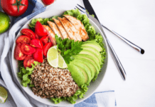 Delicious and simple chicken salad