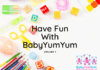 Have Fun With BabyYumYum Activity Booklet Volume 1
