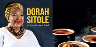 Dora Sitoles passionfruit creme brulee