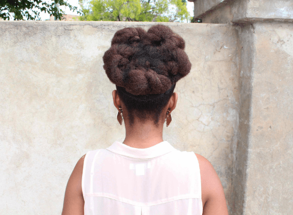 natural updo look 2b
