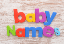 Top 10 baby names for boys and girls 2021