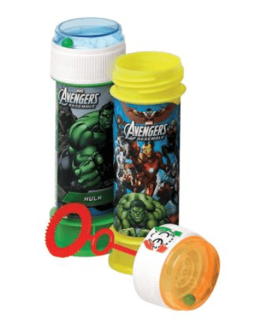 gifts for kids under R100 avengers bubbles
