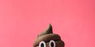 poop emoji with a smiley face