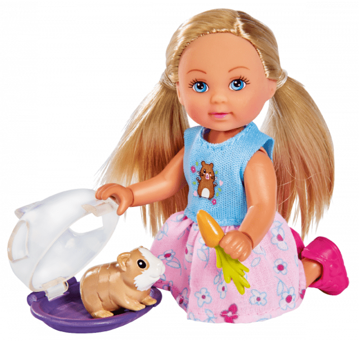 gifts for kids under R100 doll with guinea pig