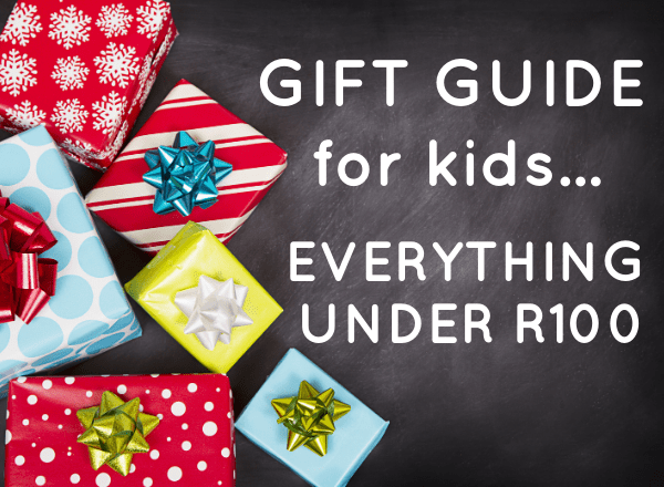 Christmas gifts for kids everything under R100