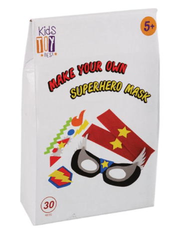 kids gifts under R100 make your own superhero mask