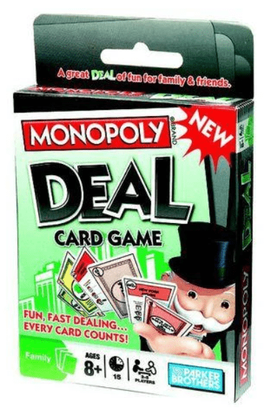 gifts for kids under R100 monopoly deal card game