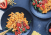 Recipe: red pepper romanesco pasta salad