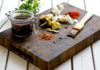 braai marinade ingredients on a wooden chopping board