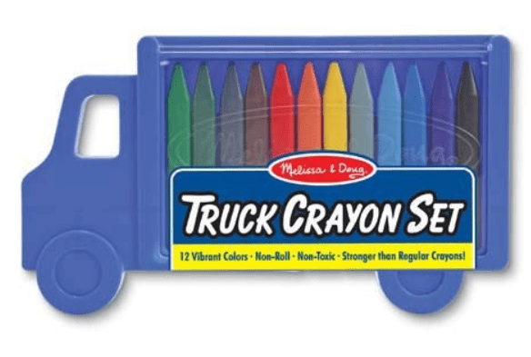 gifts under R100 truck crayon set