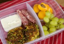 lunchbox idea zucchini fritters recipe