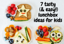 different lunchbox ideas for kids