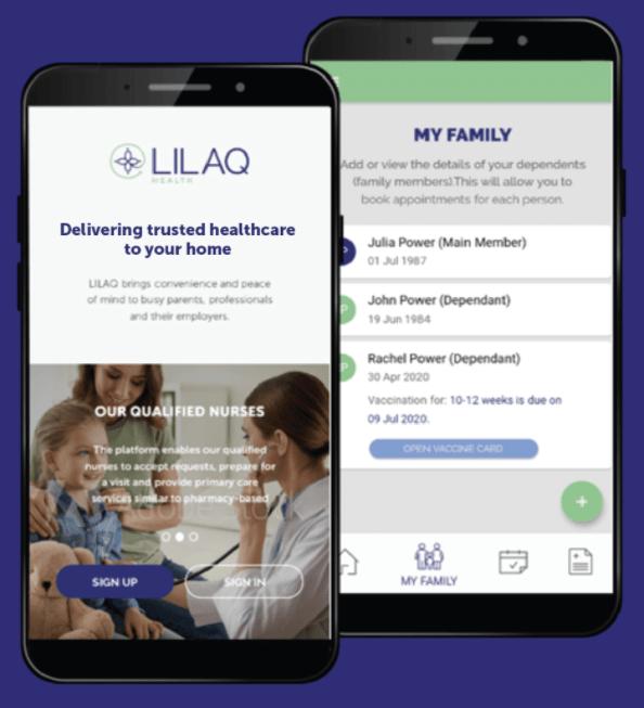 lilaq health care app