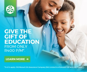 Old Mutual education policy banner