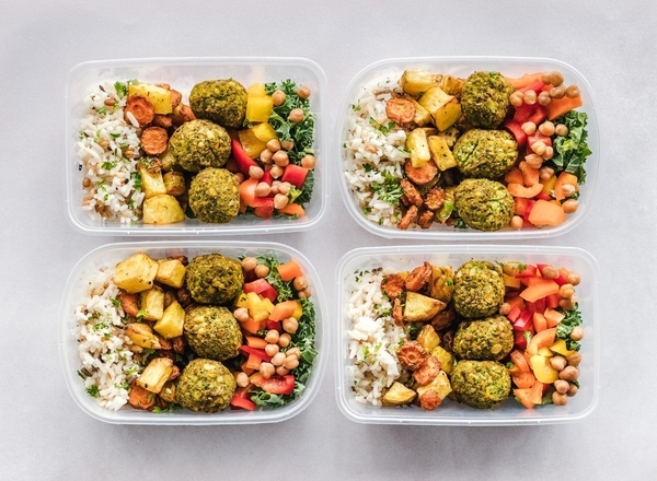 lunch prep prepared freezer meals