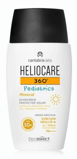 heliocare pediatrics sun care
