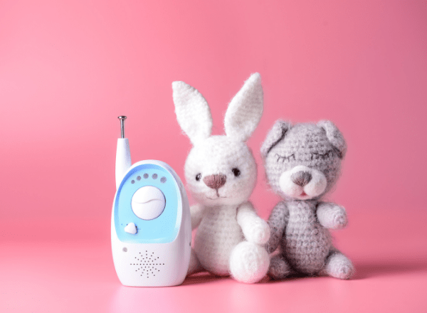 how to choose the right baby monitor: monitor in a nursery