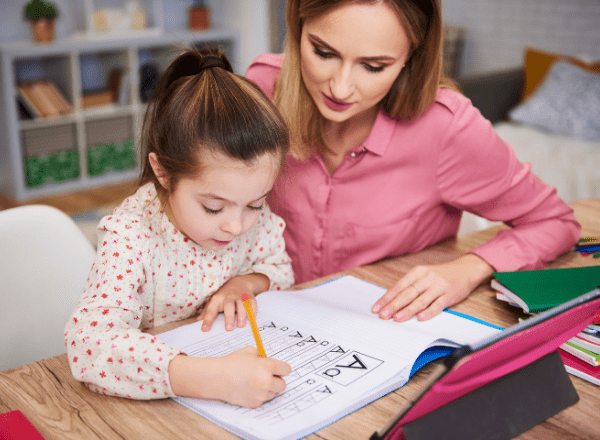 Give your disabled child the gift of quality education: mother homeschooling her daughter
