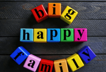 big happy family: blended families and budgeting