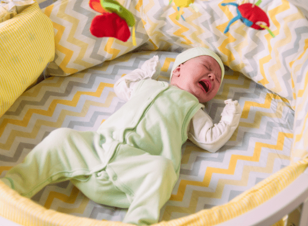 Colic in babies: causes, symptoms and treatment: crying baby