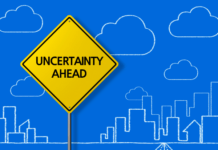 uncertainty ahead sign: What to do when you and your partner can't agree on how many children to have