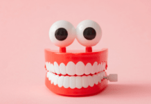 When should you take your child to the dentist for the first time: toy teeth dentures