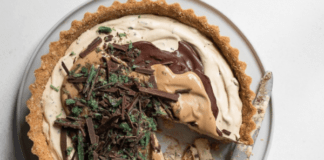 peppermint crisp tart: best south african dessert recipes