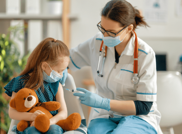 what should you do if your child has missed a vaccination on the south african schedule: child getting vaccinated
