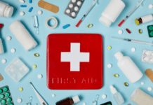 first aid box and equipment: first aid myths