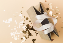 gift bag with glitter: things we love in May 2021