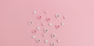 gift bag with hearts coming out of it: things we love june 2021
