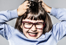 young girl having a tantrum: why children have tantrums how to avoid tantrums and discipline techniques