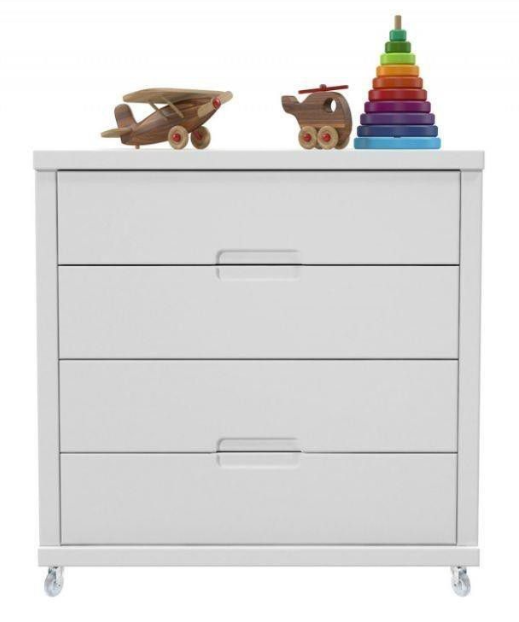 George & Mason tutto chest of drawers with wheels