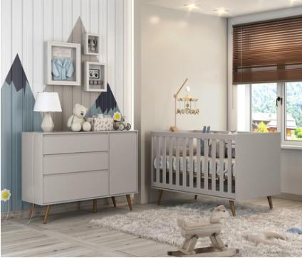 George & Mason baby nursery