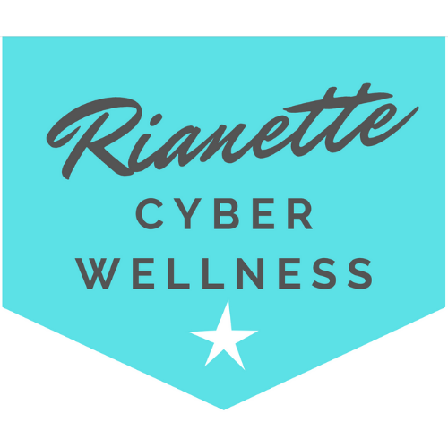 Cyber Wellness with Rianette logo