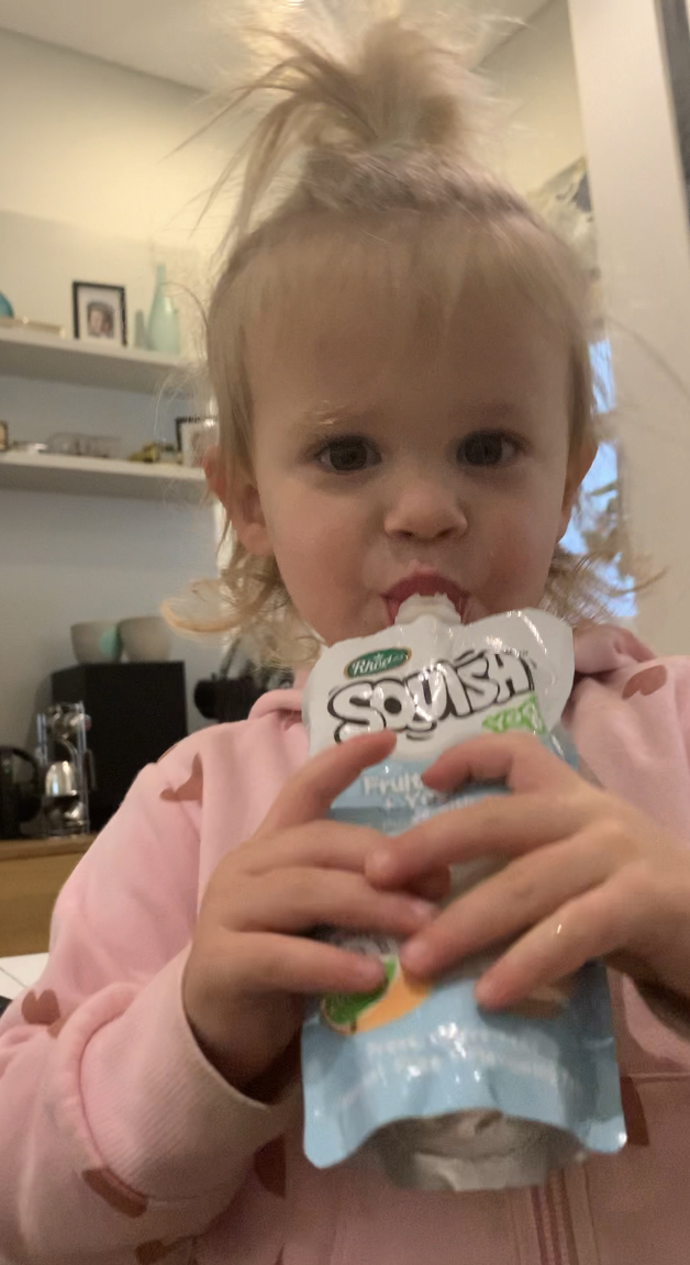 Squish new 200ml fruit and vegetables pouches