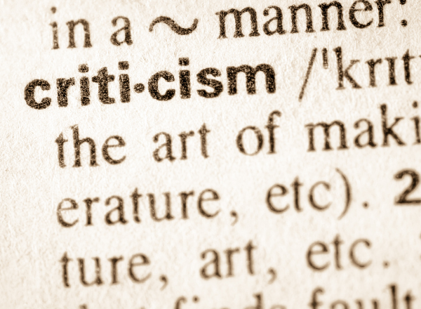 criticism dictionary definition: how to criticize a child properly