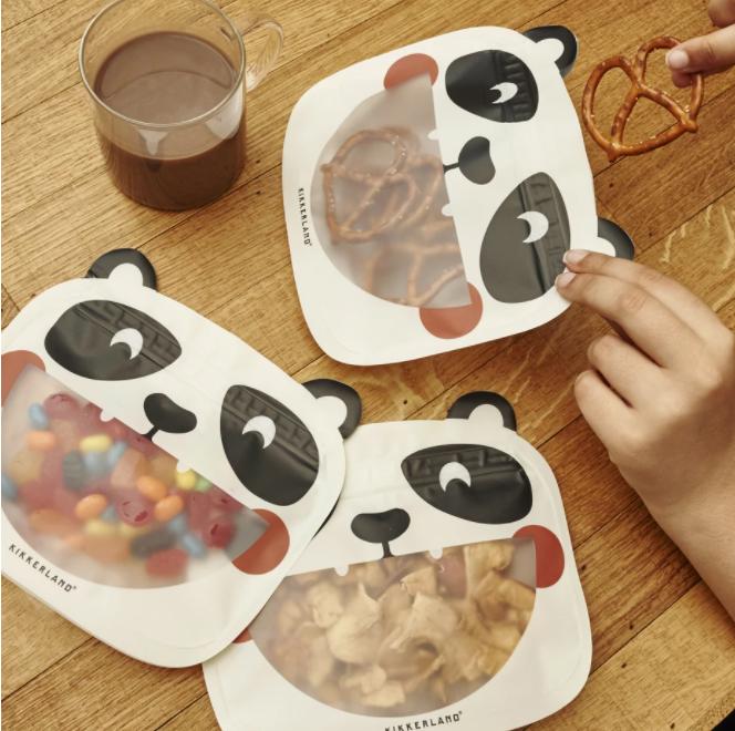 kikkerland reuseable snack bag things we love july 2021
