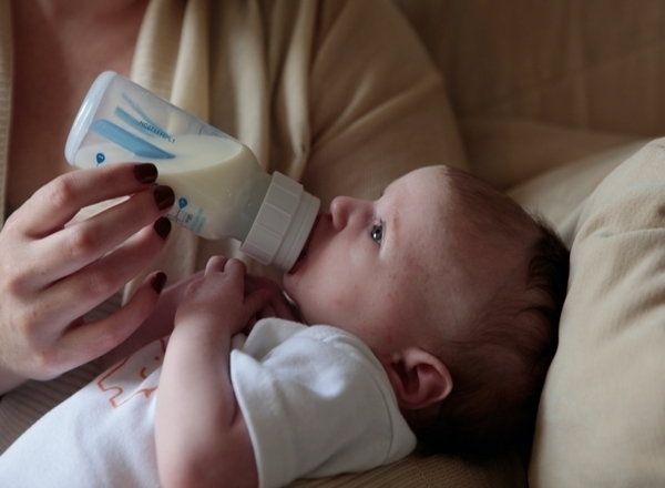 flying with a newborn in south africa: baby feeding bottle blanket