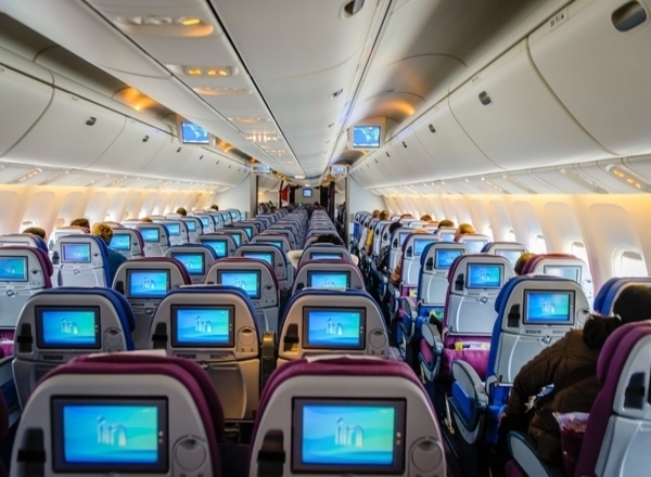 how to fly with a newborn: plane seats boarding