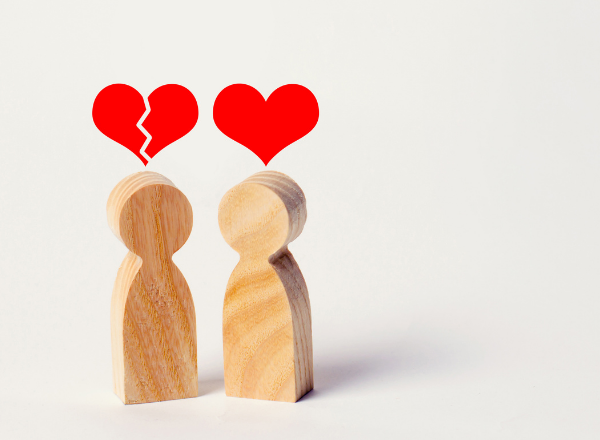 broken heart figurines: I had a baby with a married man