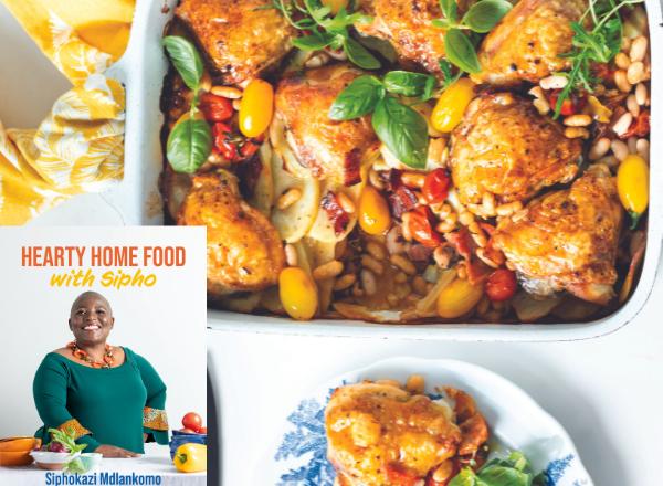 Siphokazi Mdlankomo one pan wonder chicken recipe: hearty home food recipe cookbook