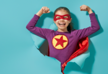 child in superhero costume: why supplementing your child's diet with essential fatty acids is essential