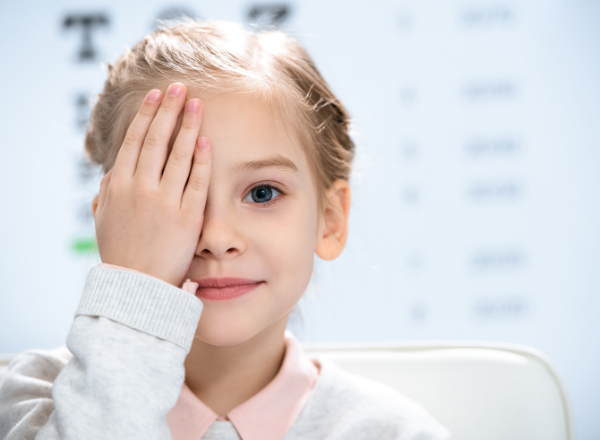 child with a lazy eye: Amblyopia causes and treatment of lazy eye in children